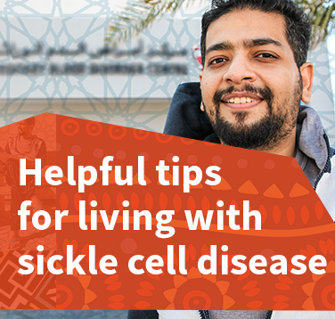 Helpful tips for living with sickle cell disease
